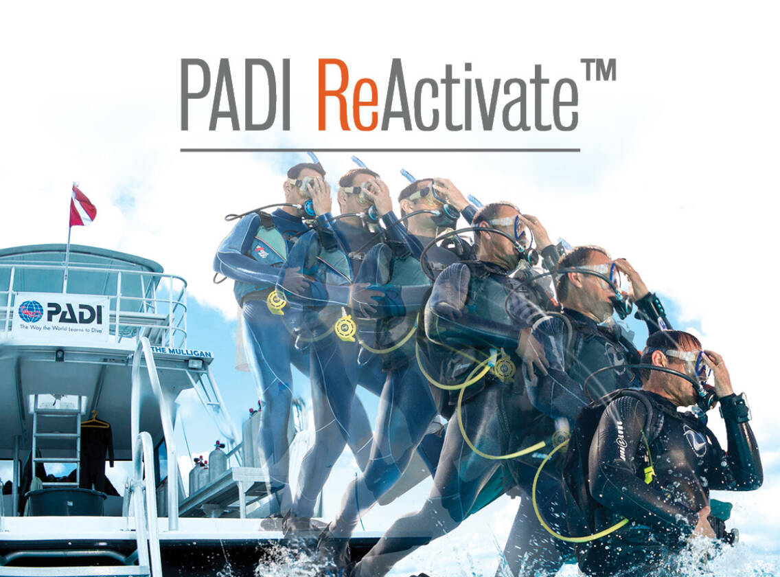 PADI Reactivate Scuba Day